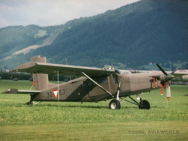 Pilatus PC-6 Turbo Porter - PC-6B (Austrian Air Force) | Photo 10/13