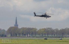 AH-64D Apache over Steenwijk