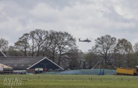 Low flying Apache