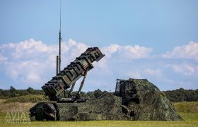 PAC-2 Patriot system with camouflage