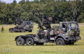 Two DAF YTZ 2300 trucks