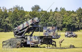 Soldiers from the 802 squadron at work