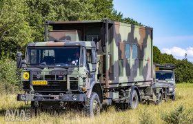 DAF YA 5444 Patriot mobile commandpost