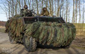 Fennek Light Armoured Reconnaissance Vehicle