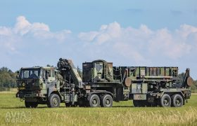 Patriot Guided Missile Trailer