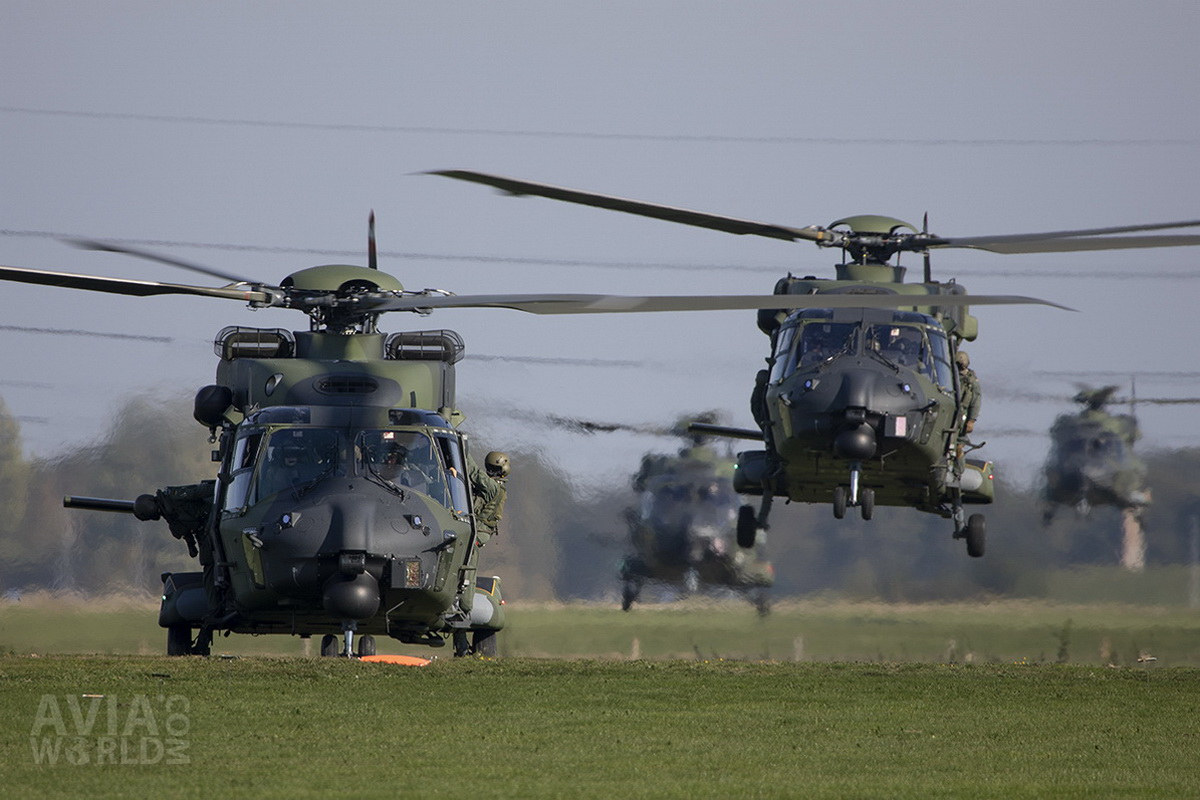 German Army NHIndustries NH90 TTH