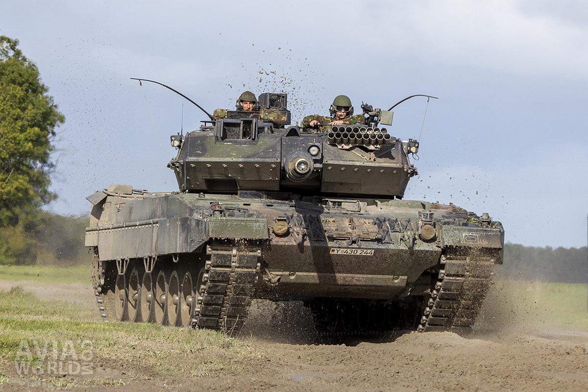 Leopard 2A6 Tank