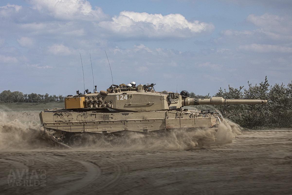 Norwegian Army Leopard 2A4 Tank