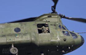 Boeing CH-47D Chinook Loadmaster