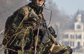 Air Assault infantry training