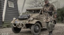 Battle of Groningen - Delfzijl Pocket - German Kübelwagen