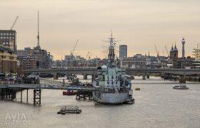 Come aboard and explore HMS Belfast