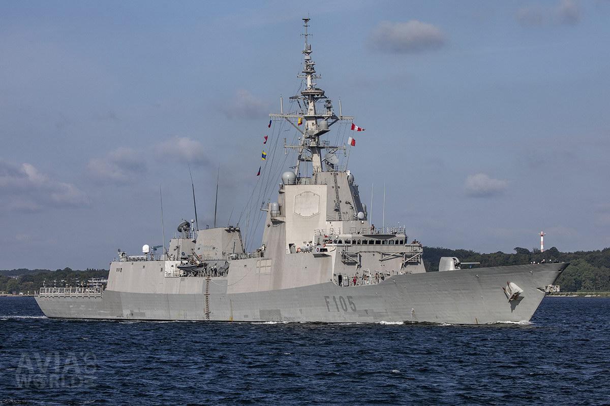 Spanish Navy - Cristóbal Colón (F105)