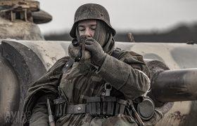 Drinking German Soldier