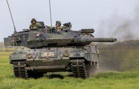 German-Dutch Main Battle Tank Leopard 2 A6MA2