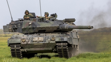 German-Dutch Main Battle Tank Leopard 2 A6MA2