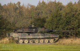 German Leopard 2 tank