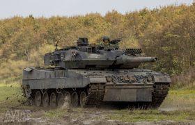 Leopard 2 A6MA2 main battle tank