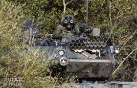Leopard Tank Commander with Binoculars