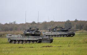 Leopards of the German-Dutch 414 Panzer Battalion