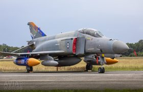 McDonnell Douglas F-4E AUP Phantom II with Special Colours