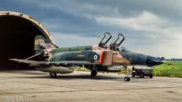 McDonnell Douglas F-4E Phantom II in Vietnam Camouflage