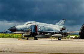 Phantom II after a Thunderstorm