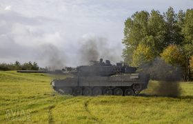 Smoking Leopard 2A6MA2