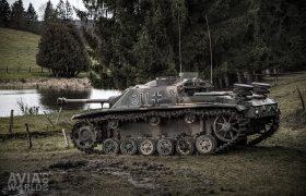 Sturmgeschütz III in Neufmoulin
