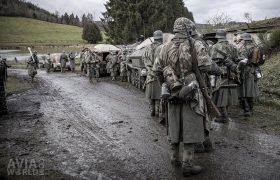 Wehrmacht Soldiers preparing for Battle