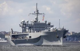 Amphibious command ship USS Mount Whitney (LCC-20)