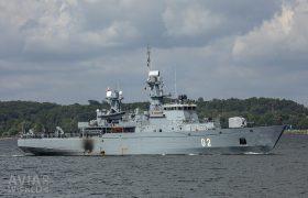 Finnish Navy Hämeenmaa-class minelayer FNS Hämeenmaa