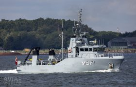 Royal Danish Navy MSF-class drone minehunter HDMS MSF1