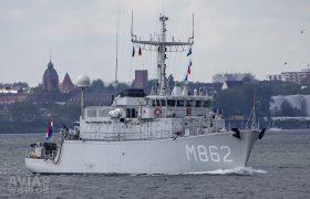 Royal Netherlands Navy Alkmaar class minehunter Zr Ms Zierikzee (M862)