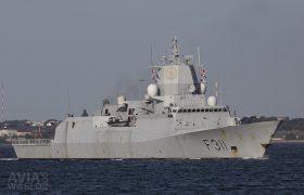 Royal Norwegian Navy Fridtof Nansen-class frigate HNoMS Roald Amundsen (F311)