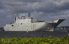 Spanish Amphibious assault ship (LHD)-aircraft carrier Juan Carlos I (L61)