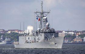 Turkish Navy Gabaya-class frigate TCG Gokova (F496)