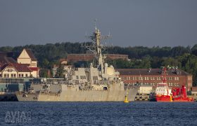 USS Gravely (DDG-107) Arleigh Burke-class guided missile destroyer of the United States Navy