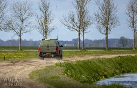 Amarok with antennas on the move