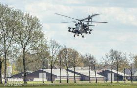 Boeing AH-64D Apache closing in