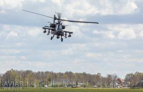 Boeing AH-64D Apache near Wapserveen