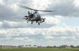 Boeing AH-64D Apache high speed pass