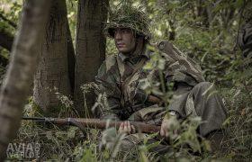 September Odyssey - Camouflaged German soldier