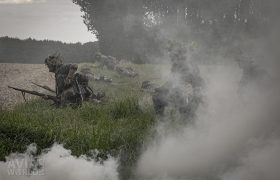 September Odyssey - German soldiers with smoke