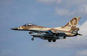 531 F-16C Barak 101 Sqn Israeli AF