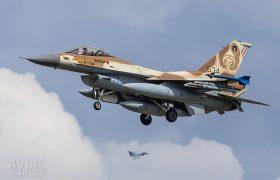 534 F-16C Barak 101 Sqn Israeli AF