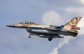 536 F-16C Barak 101 Sqn Israeli AF