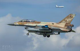628 F-16D Barak 105 Sqn Israeli AF