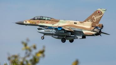 676 F-16D Barak 105 Sqn Israeli AF