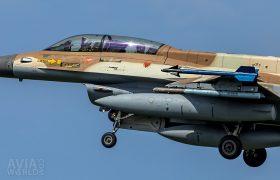 682 F-16D Barak 105 Sqn Israeli AF